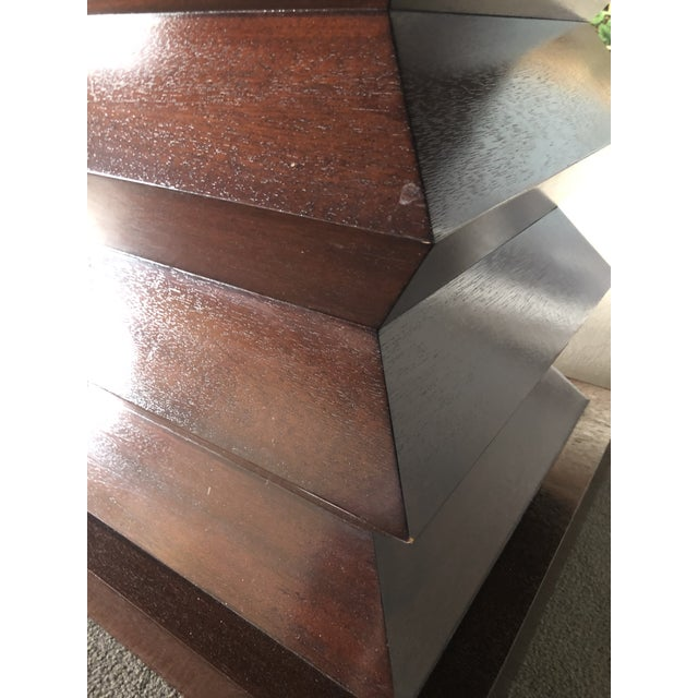 """Chestnut Michael Berman """"Lombard"""" Dining Table For Sale - Image 8 of 10"""