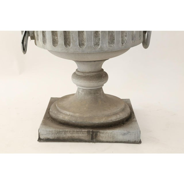 Monumental Urn-Shape Zinc Finial For Sale In Houston - Image 6 of 9