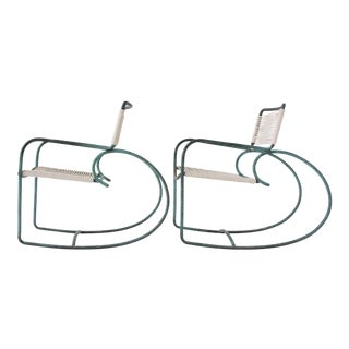 Single Walter Lamb Patio Rocking Chair for Brown Jordan