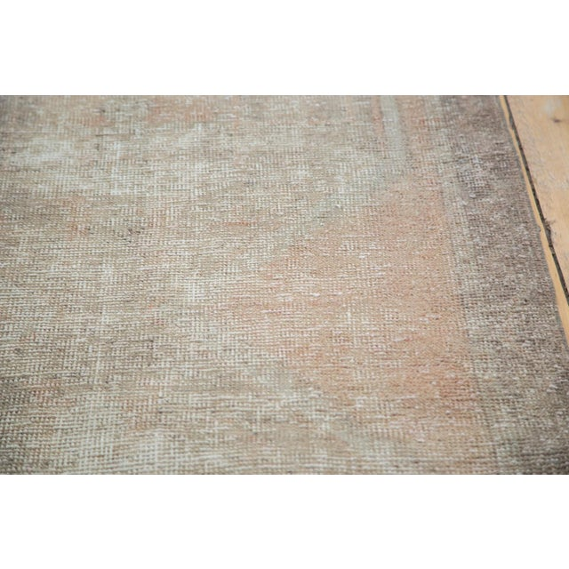 "Distressed Oushak Rug Runner - 3'5"" X 10'9"" - Image 3 of 8"