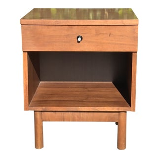 Mid Century Night Stand For Sale