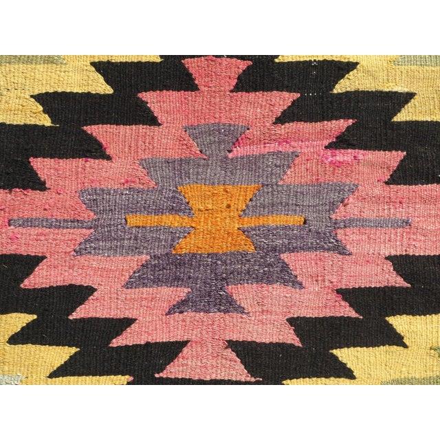 Anatolian Turkish Classic Kilim Rug For Sale - Image 6 of 13