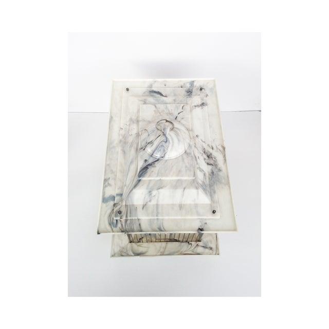Bakelite Mid Century Bakelite Bird Cage For Sale - Image 4 of 6
