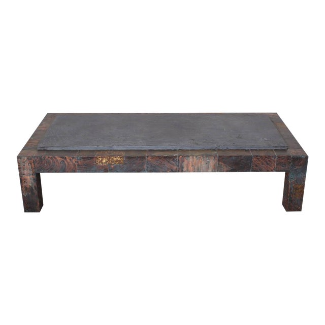 Large Patchwork Coffee Table by Paul Evans - Image 1 of 10