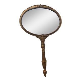 Palladio Hollywood Regency Hand Mirror Style Wall Mirror