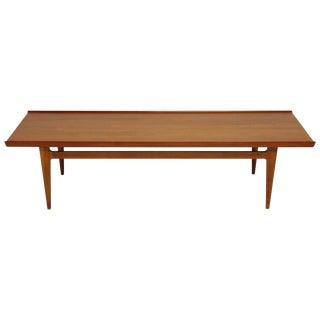 Early Finn Juhl for France and Daverkosen Fd532 Teak Coffee Table, Denmark 1950s For Sale