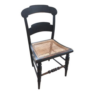 Late 19th Century Vintage Hitchcock Painted Chair For Sale