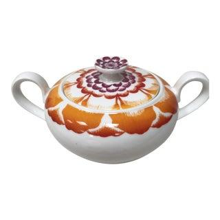 Villeroy & Boch Rare Lotus Anmut Universal Sugar Bowl For Sale