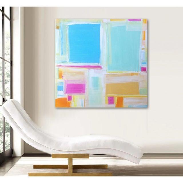 'MADRAS' Original Abstract Painting by Linnea Heide - Image 7 of 7