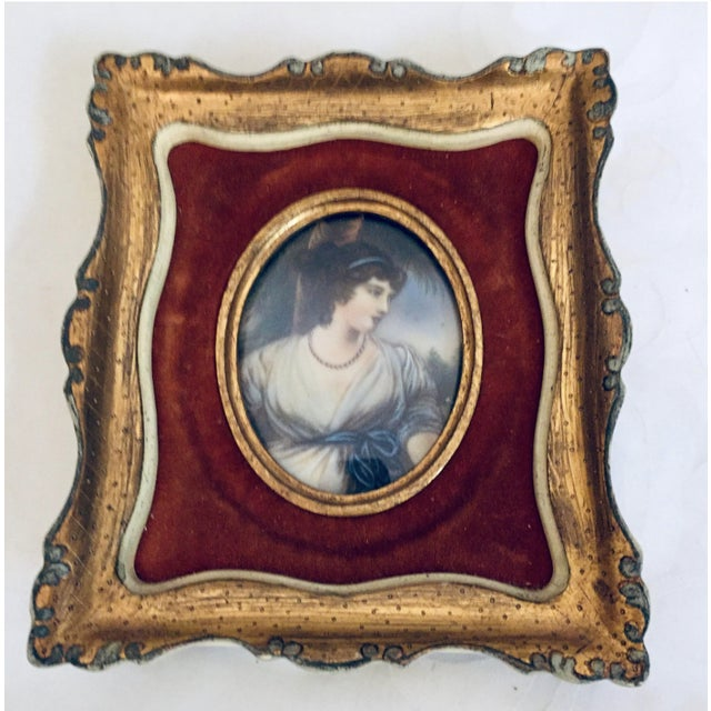 Antique 19th Century European Prints in Gilt Frames - A Pair For Sale - Image 4 of 7