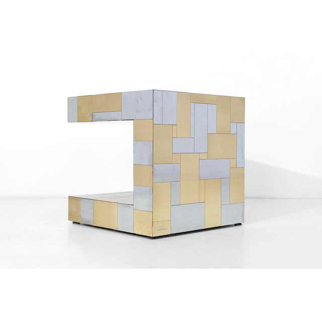 Directional Paul Evans Cityscape Side Table For Sale - Image 4 of 8