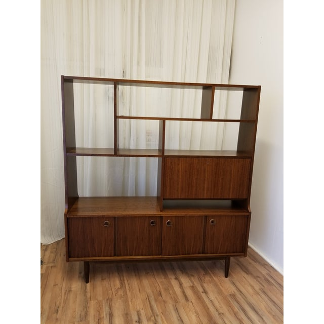 1960s Mid Century Bookcase For Sale - Image 13 of 13