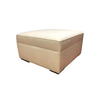 Modern Square Cocktail Ottoman For Sale