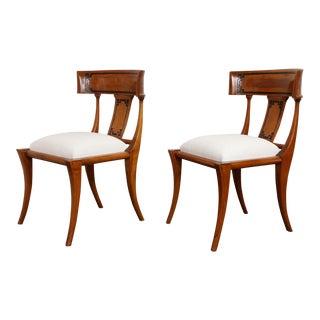 Klismos Chairs - a Pair For Sale