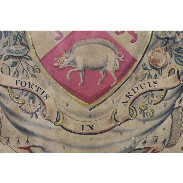 Framed Coat of Arms for Cassidy For Sale In Boston - Image 6 of 8