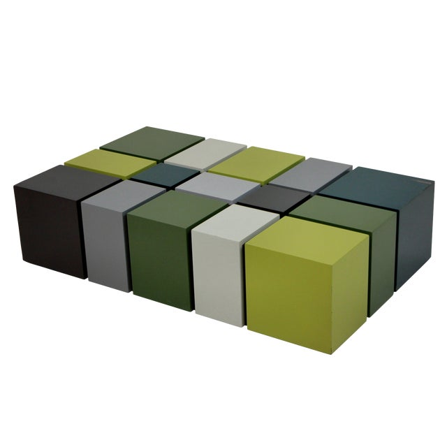 An Unusual Cubist Occasional Table For Sale