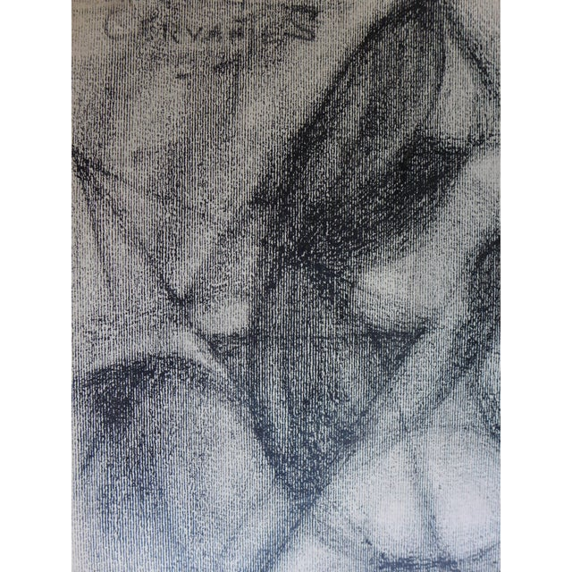 Mexican Abstract (The Figure) Drawing - Image 3 of 4