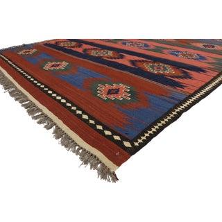 Vintage Afghani Kilim Rug With Southwestern Navajo Style - 06'04 X 10'00 Preview