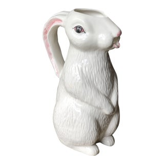 Bordallo Pinheiro Rabbit Pitcher