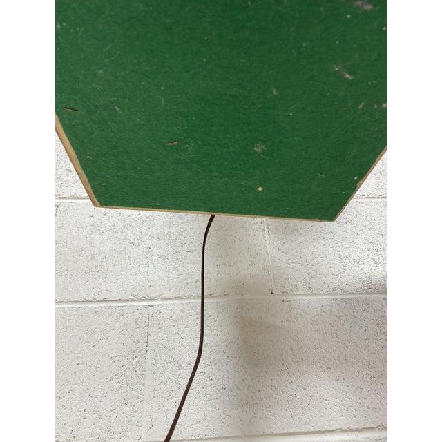 Modeline Walnut Serpentine Floor Lamp For Sale - Image 9 of 13