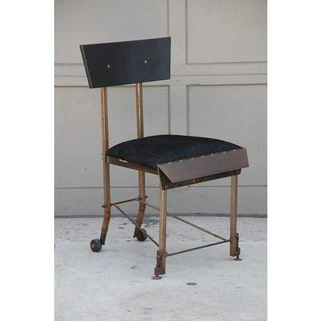 Set of 8 One-Of-A-Kind Modernist Dining Chairs For Sale In Los Angeles - Image 6 of 12