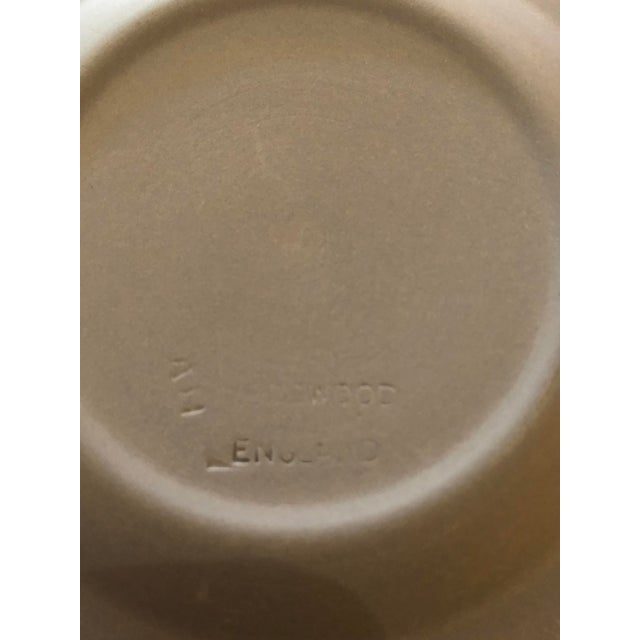 Wedgwood Wedgwood Jasperware Pale Blue Round Ashtray Queensware With Original Box For Sale - Image 4 of 9