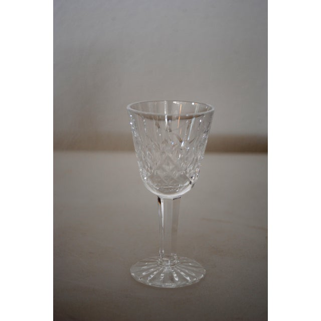 "Vintage Waterford Lismore Cordial Liqueur Glass 3.5"" 1 ounce capacity Signed in script on base (old mark) Very nice..."