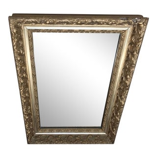 1960s Classical Giltwood and Plaster Mirror For Sale