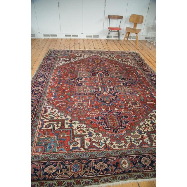 "Vintage Heriz Carpet - 8'1"" X 10'7"" - Image 3 of 10"