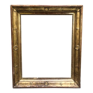Antique Gilt French Picture Frame For Sale