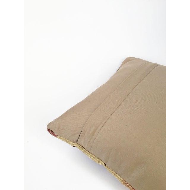 Vintage Kilim Square Pillowcase - Image 5 of 5