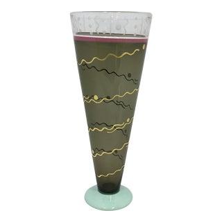 Michael Jaross Art Glass Vase