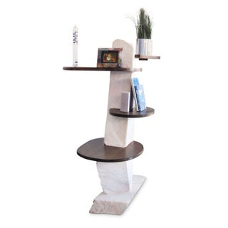 1980s Organic Modern Tall Etagere Preview
