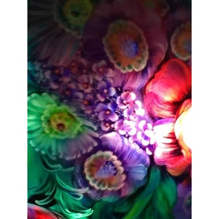 """Ulla Darni Signed """"Floral Green"""" Chandelier Preview"""
