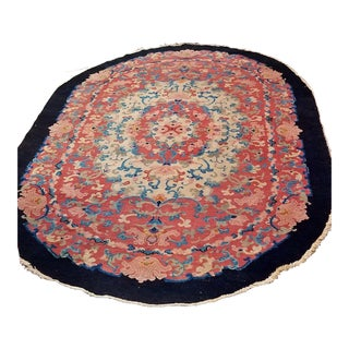 Art Deco Helen Fette Oriental Floor Rug Large For Sale