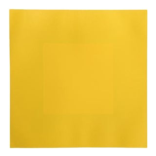 "Richard Anuzkiewicz, ""Spring Suite"" (Yellow & Yellow), Op Art Etching For Sale"