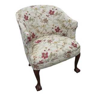 Ball and Claw Feet Living Bed Room Small Lady Side Chair For Sale
