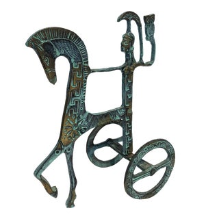 Bronze Weinberg Style Chariot For Sale