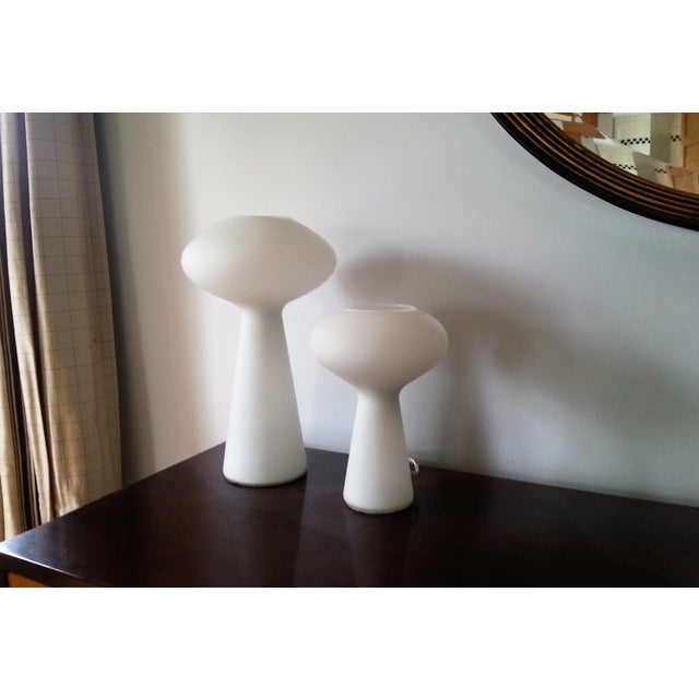 MidCentury Mod Mushroom Lamps, Lisa Johansson-Pape - Image 11 of 11