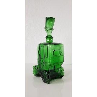 1960s Italian Emerald Green Glass Car Decanter Preview