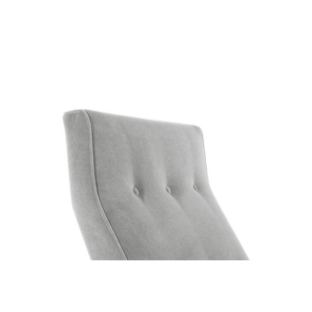 Classic Slipper Chairs by Jens Risom, Circa 1950s - a Pair For Sale - Image 11 of 13