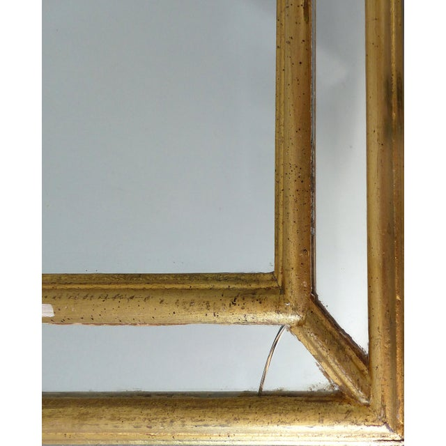 Italian Scrolled Panel Gilt-Wood Mirror - Image 7 of 7
