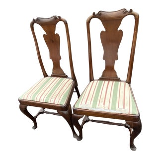 Pleasing Gently Used Vintage Queen Anne Furniture For Sale At Chairish Ibusinesslaw Wood Chair Design Ideas Ibusinesslaworg