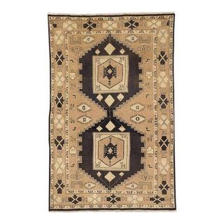 Vintage Persian Mahal Rug with Modern Tribal Style