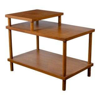t.h. Robsjohn-Gibbings for Widdicomb Step Side Table For Sale