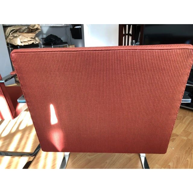 1970s 1970s Vintage Knoll Brno Flat Bar Chairs- A Pair For Sale - Image 5 of 13