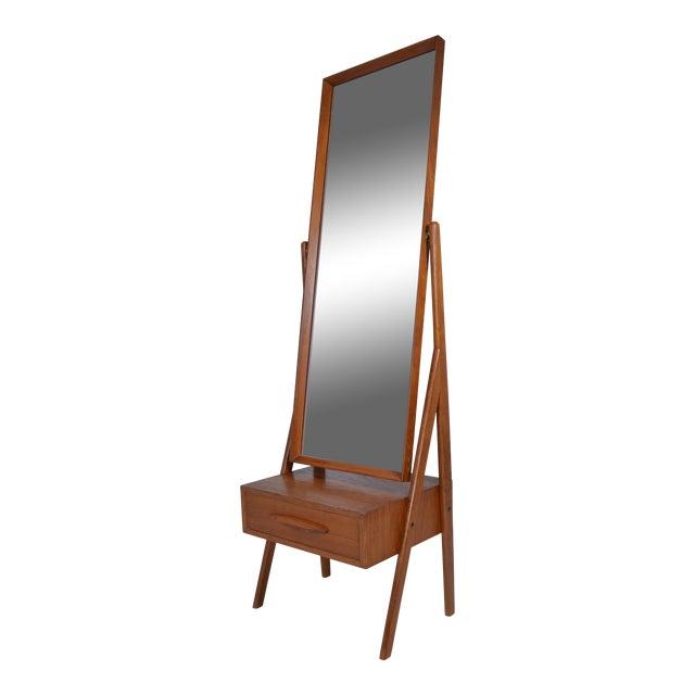 Danish Modern Cheval Mirror by Arne Vodder, circa 1960s - Image 1 of 6