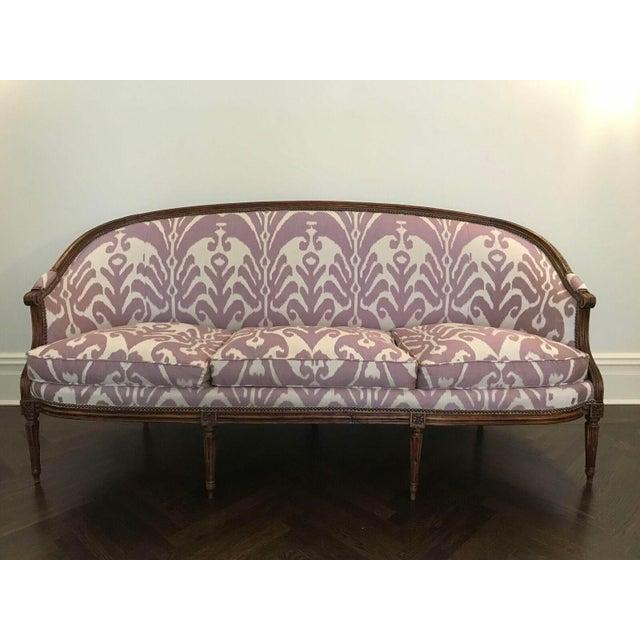 Louis XVI Style Three Seat Sofa - Image 2 of 9