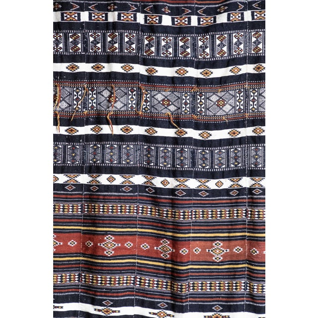Mid 20th Century Arkilla Kerka Fulani Wedding Blanket For Sale - Image 5 of 8