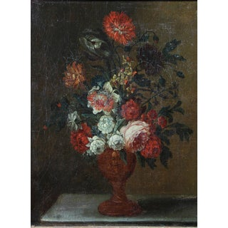French Flowers Still Life Painting Preview